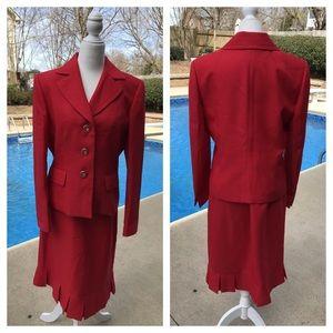 ❤️NWOT EVAN PICONE red suit